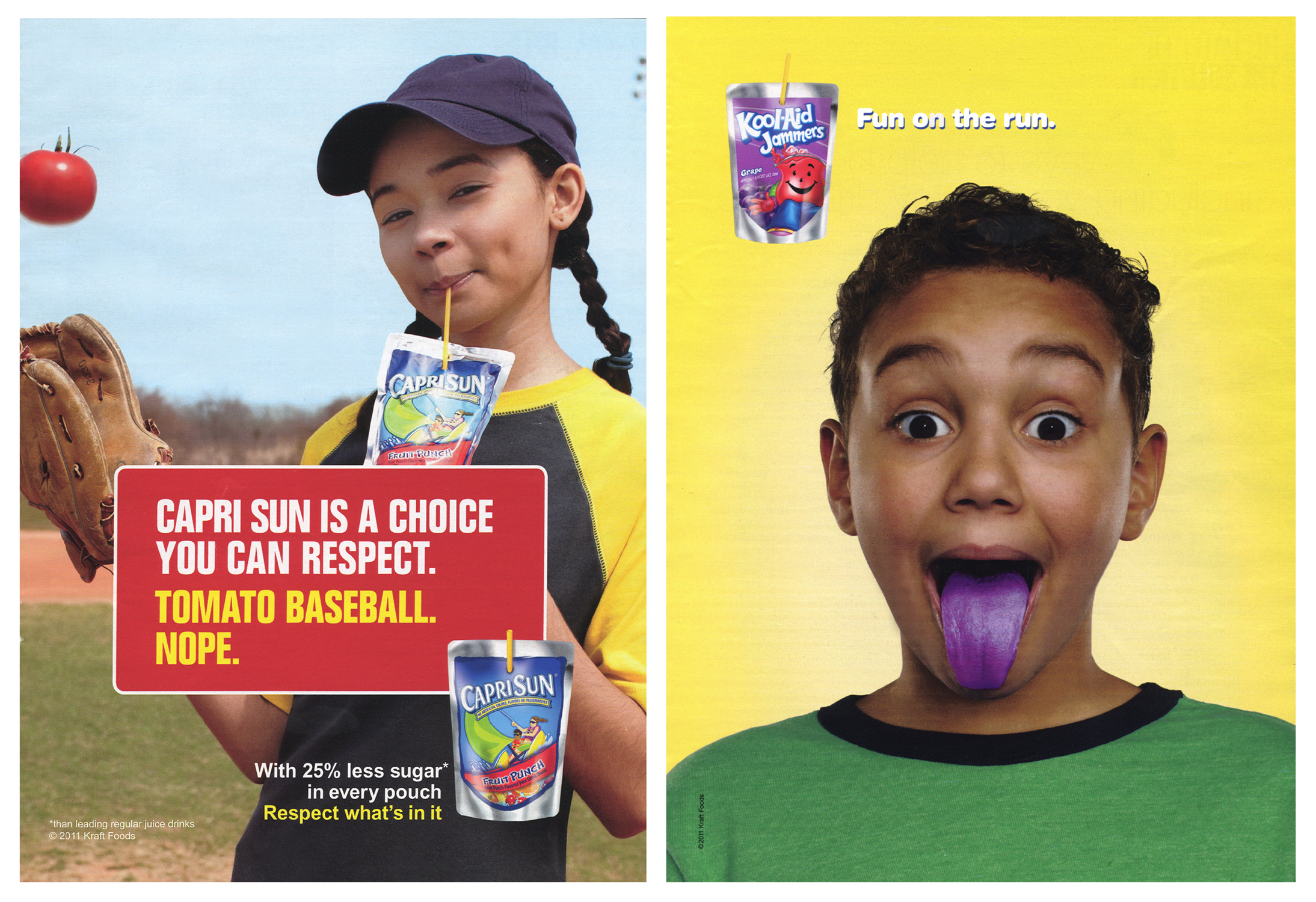 advertising to childern At mondelēz international, we do not believe in advertising directly to children  under 12 years of age - irrespective of a product's nutritional profile in 2005, we.