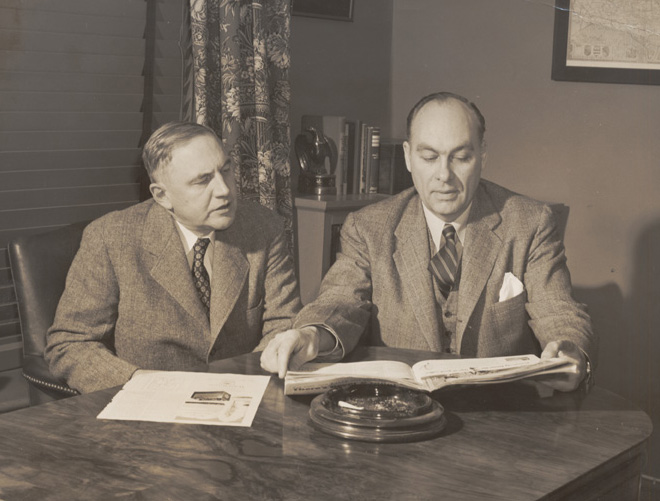 George Gallup & Claude Robinson